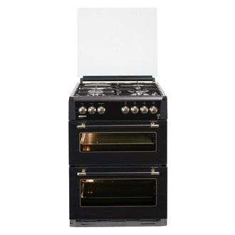 Cuisinière Feux Gaz électrique Double Four Litres - Cuisiniere 3 feux gaz pour idees de deco de cuisine