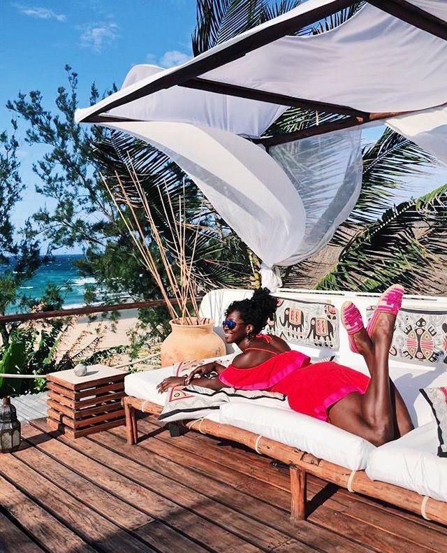mozambique tofo holiday Outdoor bed, Outdoor decor