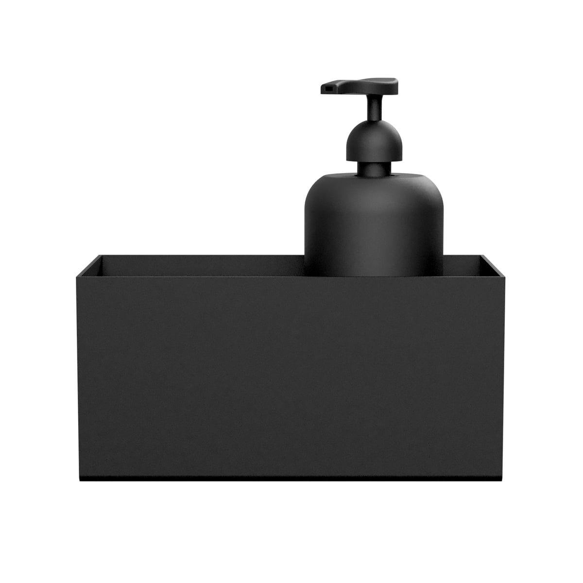 Nichba Design Wandablage L 20 Cm Schwarz Ablage Ablage Dusche Und Badezimmer Accessoires