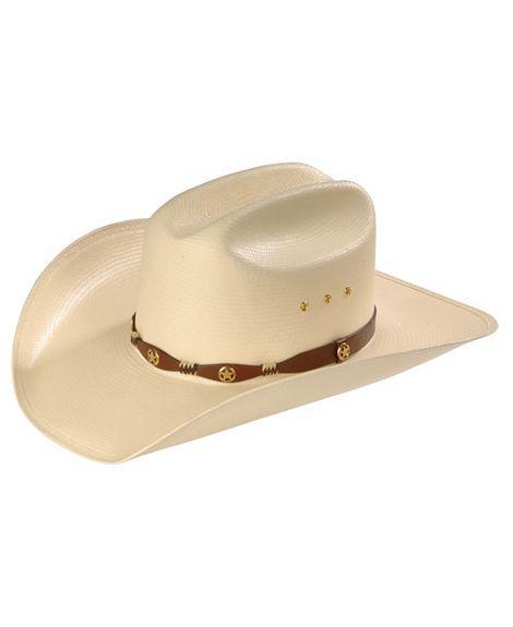 226ad83700f39 Resistol Texas Ranger Straw Cowboy Hat