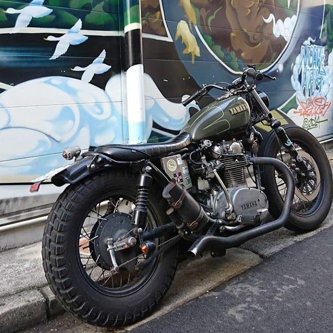 Yamaha Xs650 Bratstyle Bobber By Xs Norider