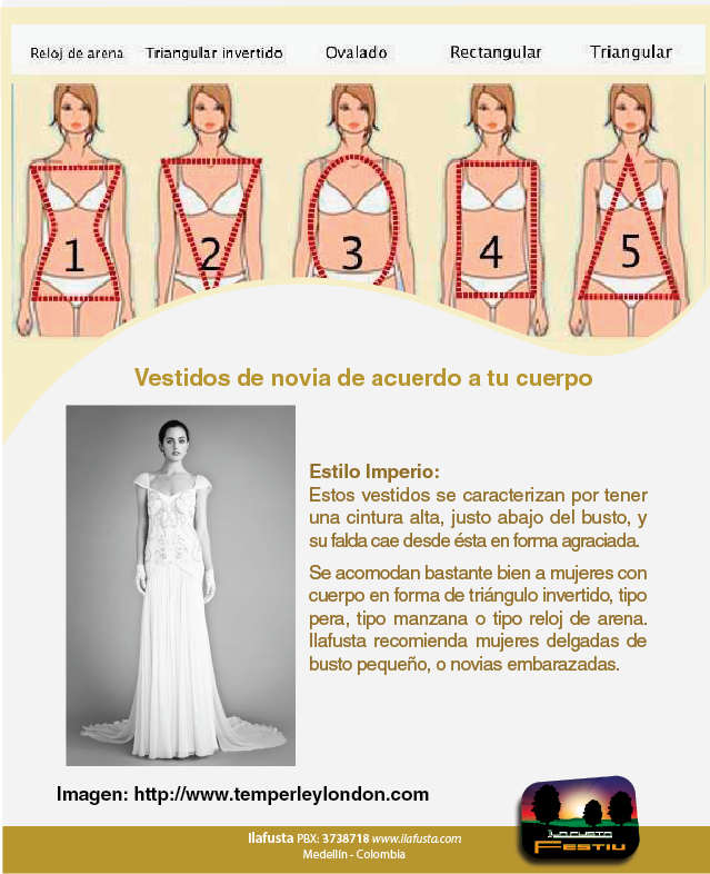 Vestidos de novia justos al cuerpo