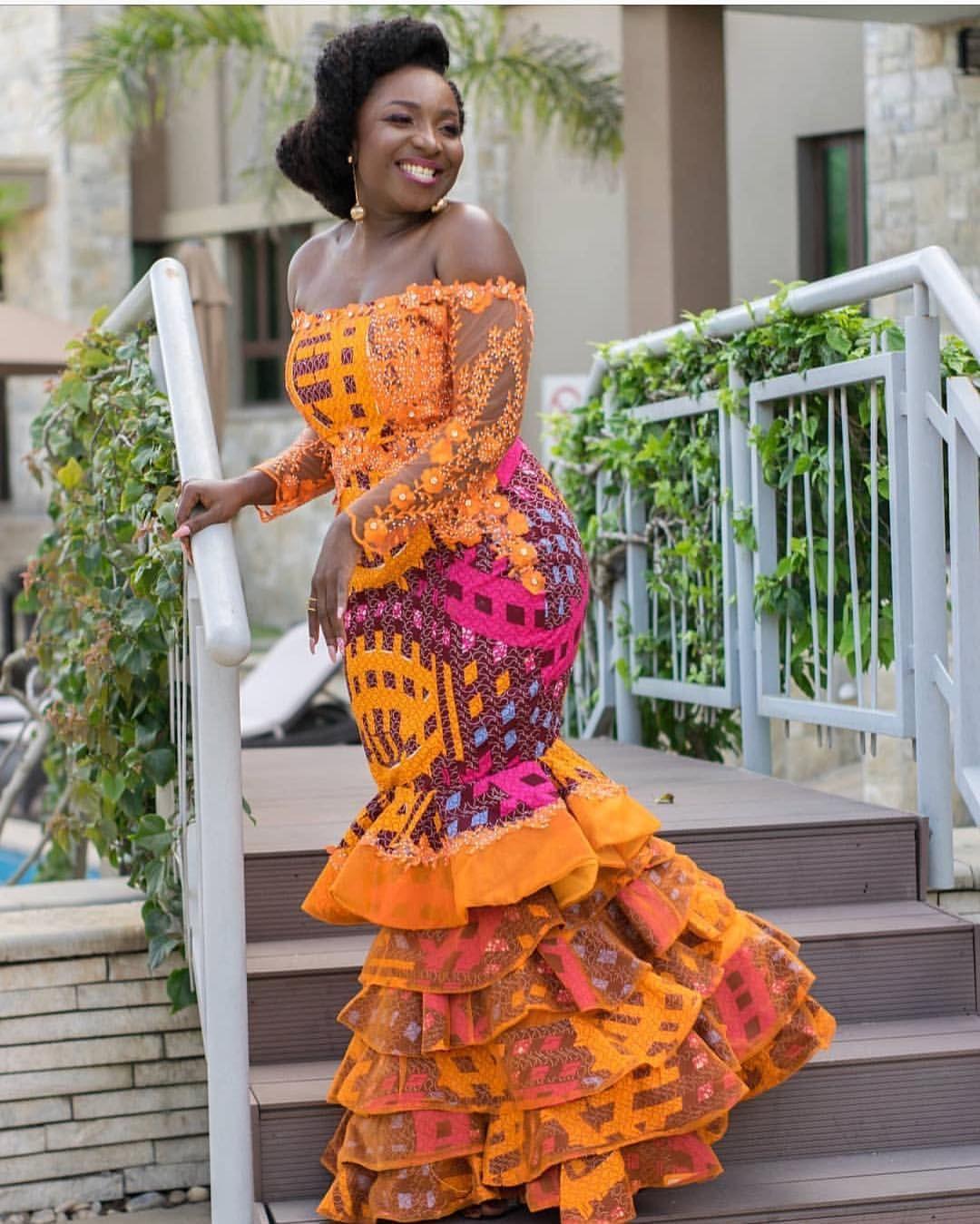 Pin by rayyanatu on ankara wedding prom formal dresses in