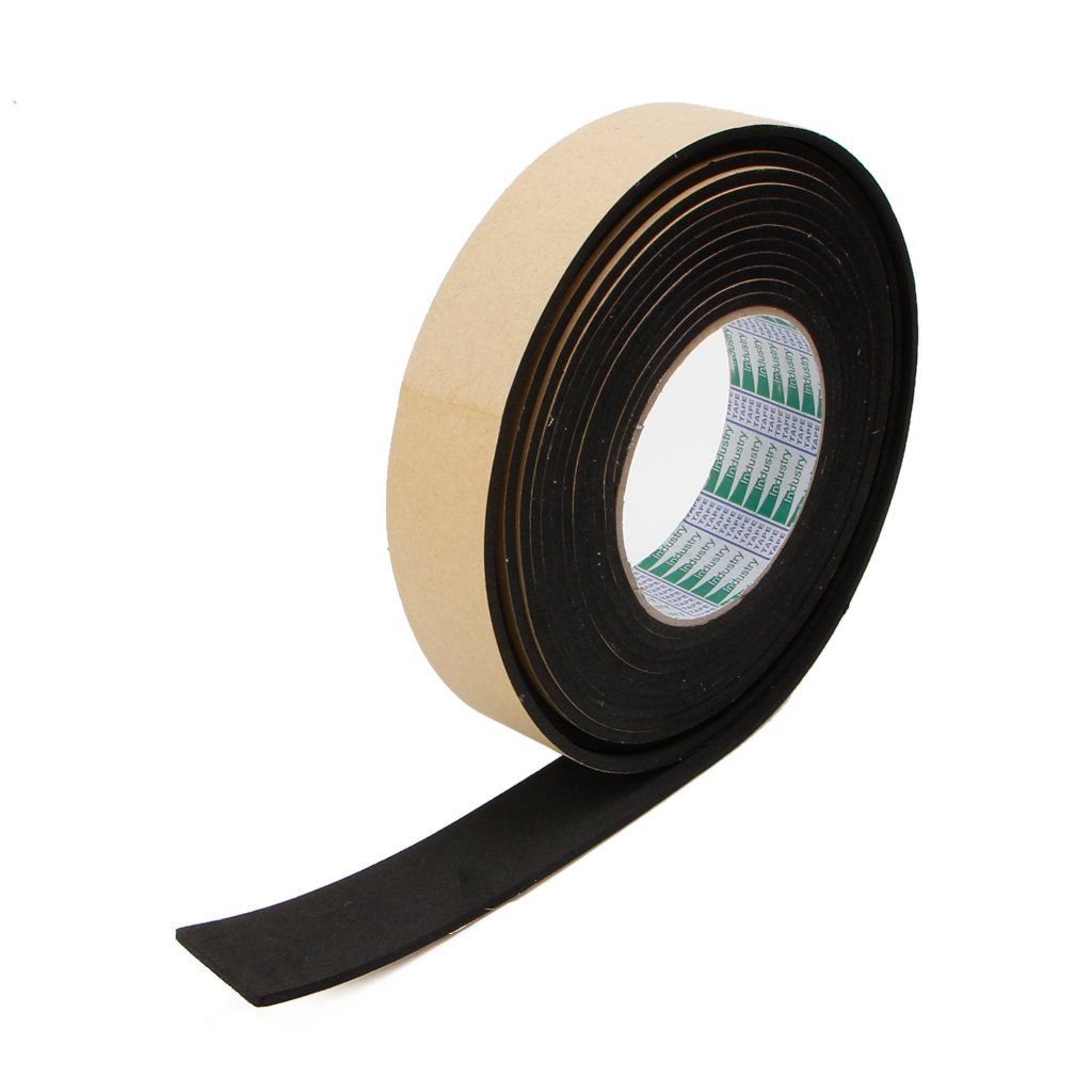 Goodqueen Eva Foam Tape Single Sided Adhesive Waterproof Weather Stripping Door Seal Tapes For Wish To Know Extra Click The Image