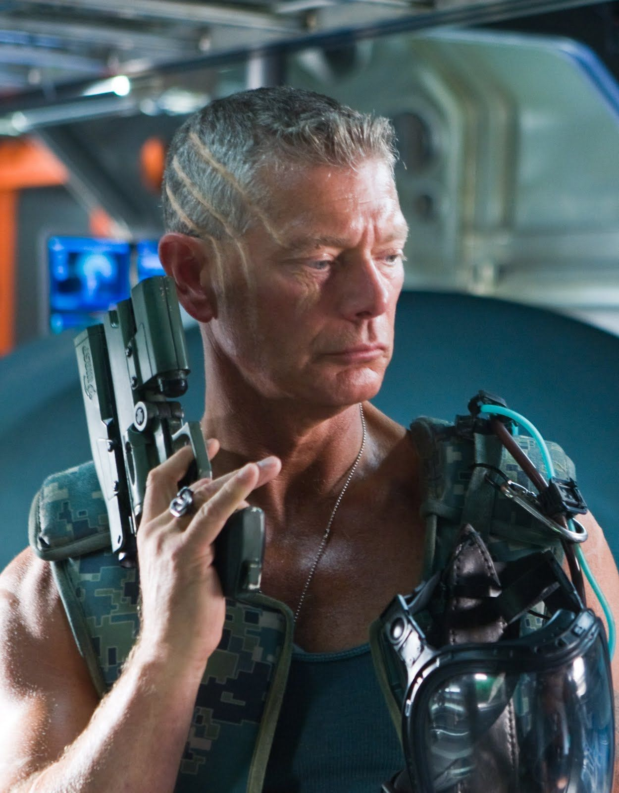 """Col. Miles Quaritch(Stephen Lang) in Avatar - LOVED this guy. Best villain in movies of 2009. Classic military persona with the edge to conquer. He had the best lines in the movie. ~ """"As head of security, it is my job to keep you alive. I will not succeed."""""""