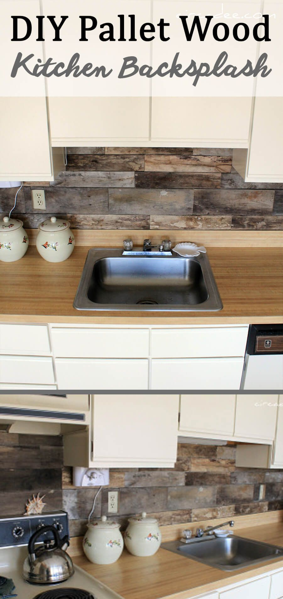 25+ Easy DIY Kitchen Backsplash Ideas To Breathe New Life Into Your Kitchen
