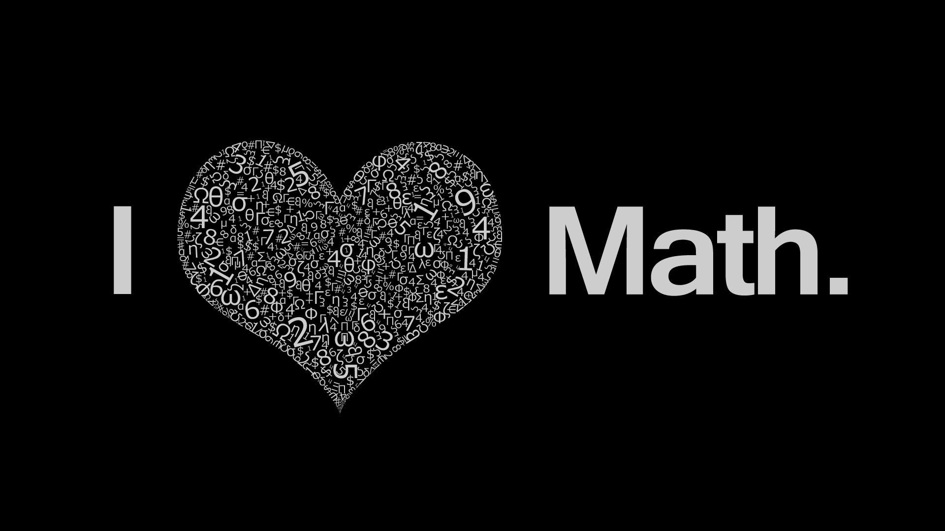 i love math wallpaper | nerdy | pinterest | math, love math and i