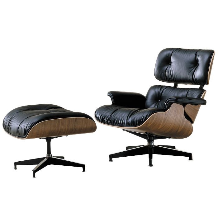 Herman Miller Eames 174 Lounge And Ottoman Classic Leather