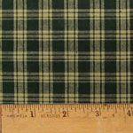 Green 4 Homespun Cotton Fabric