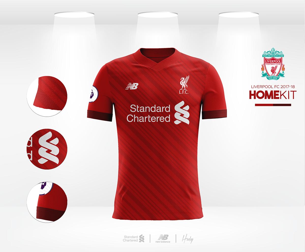 59f9a902e Liverpool FC 2017-18 Kits Concept. on Behance