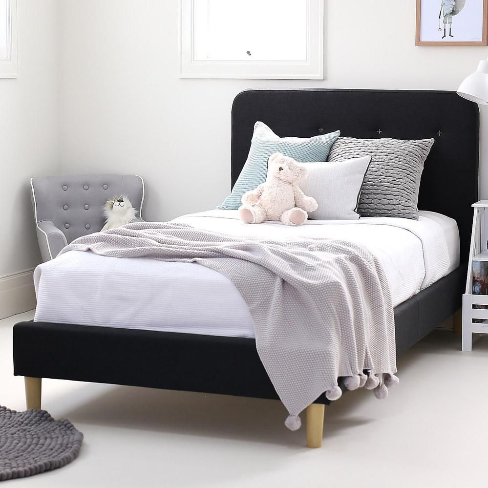 Harlow Single Upholstered Bed Upholstered Beds Luxury Bedroom