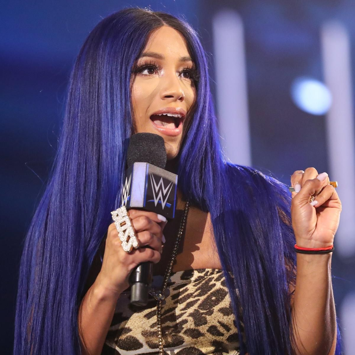 Photos Don T Miss These Incredible Images From The Blue Brand In 2020 Wwe Sasha Banks Sasha Bank Raw Women S Champion