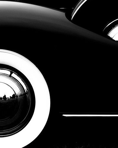 (♥) White wall tire by Bob Jagendorf