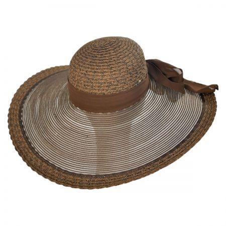 315c26285ddc0 Karen Keith Sheer Brim Swinger Hat
