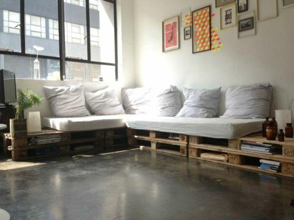 canape lit pour dormir tous les jours le canap en palette nos nouvelles id es de r cup