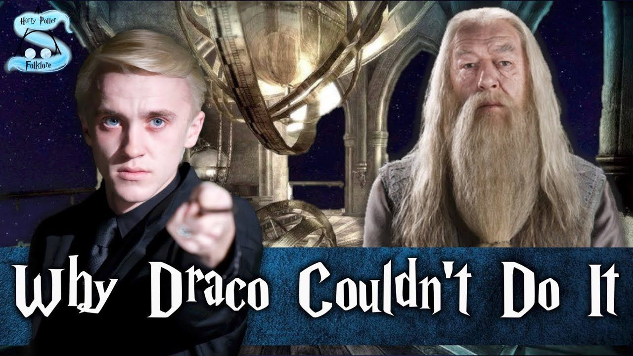 The Truth Why Draco Really Didn T Kill Dumbledore Explained Youtube Draco Dumbledore Fantastic Beasts And Where