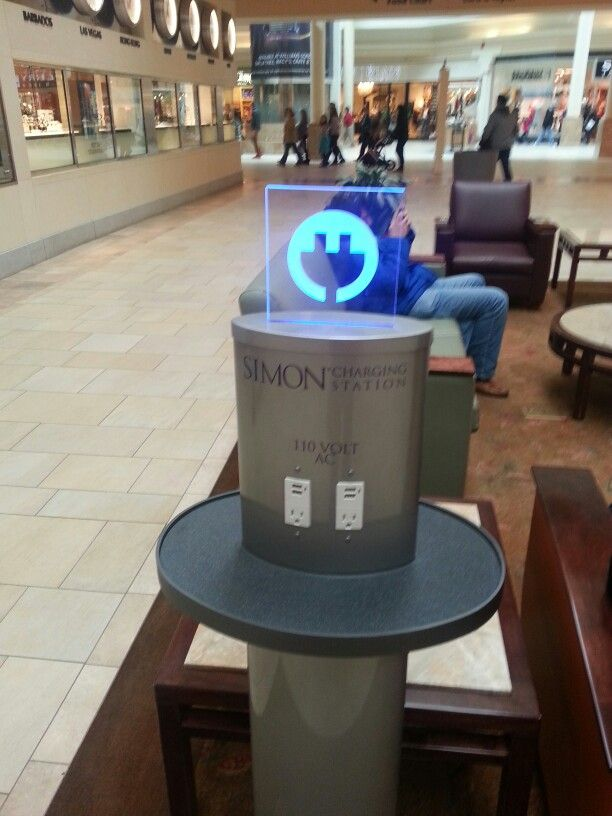 Charging Stations Provided By Your Mall Retail Wow