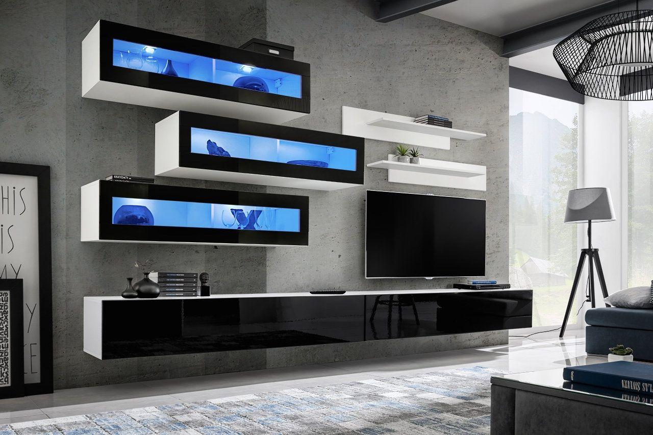 Idea K10 - entertainment center cabinet  Modern tv room, Modern tv