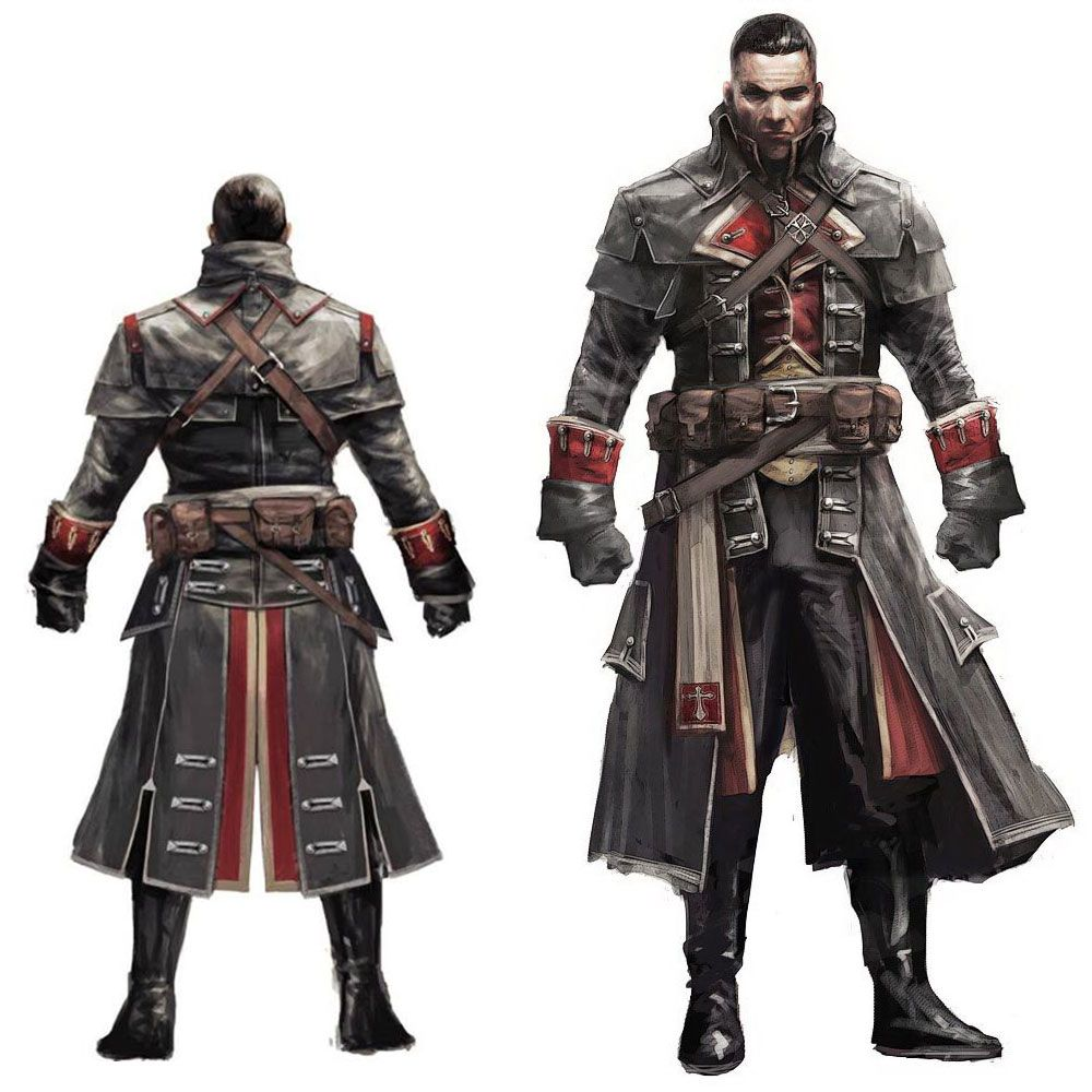 Shay Templar Concept Characters Art Assassin S Creed Rogue