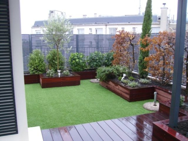 Am nagement terrasse jardin pinterest am nagement for Amenagement terrasse jardin