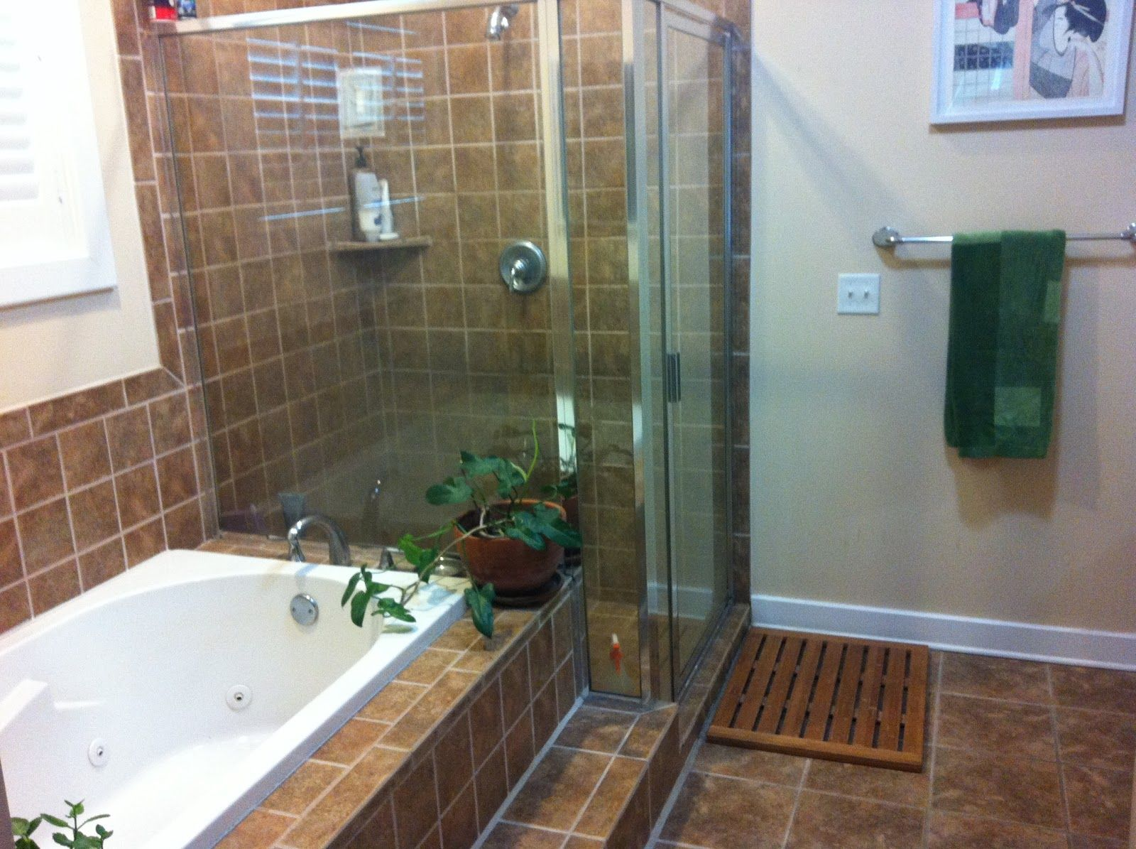 Master Bathroom Shower With Body Jetts Master Bath Jetted Tub Separate Shower With Images Bathroom Design Master Bathroom Shower Laundry In Bathroom