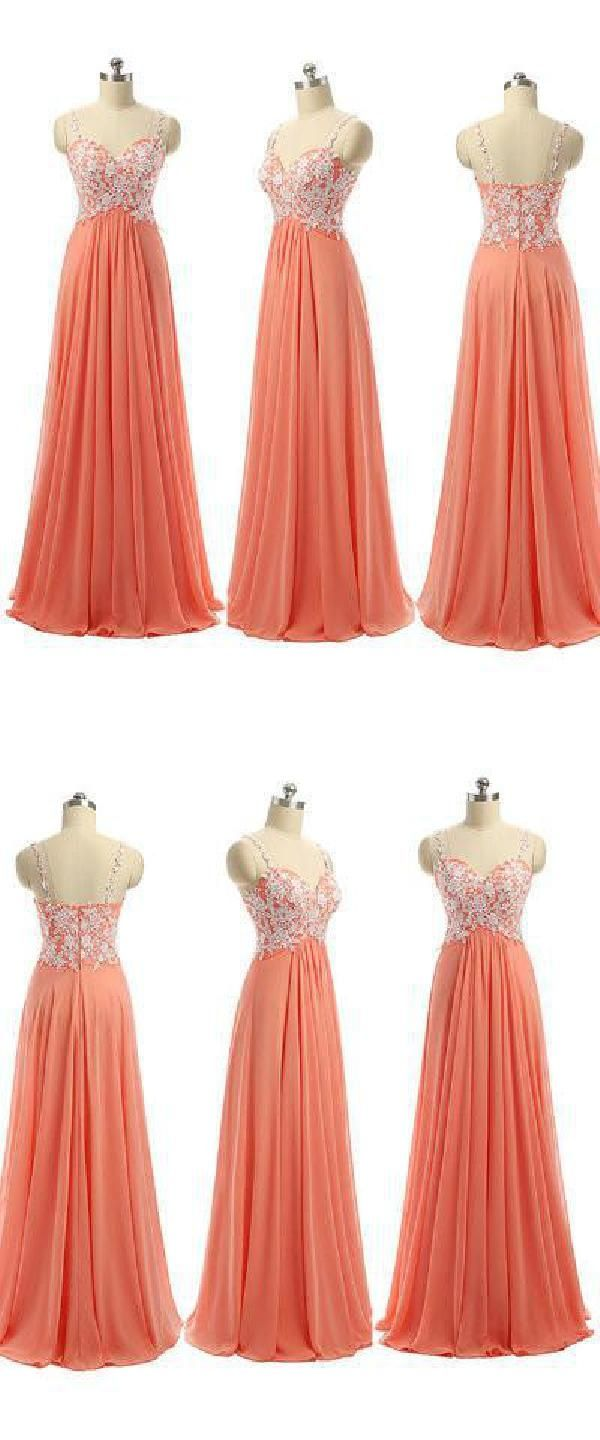 Light orange prom dresses prom dresses long prom dresses for cheap