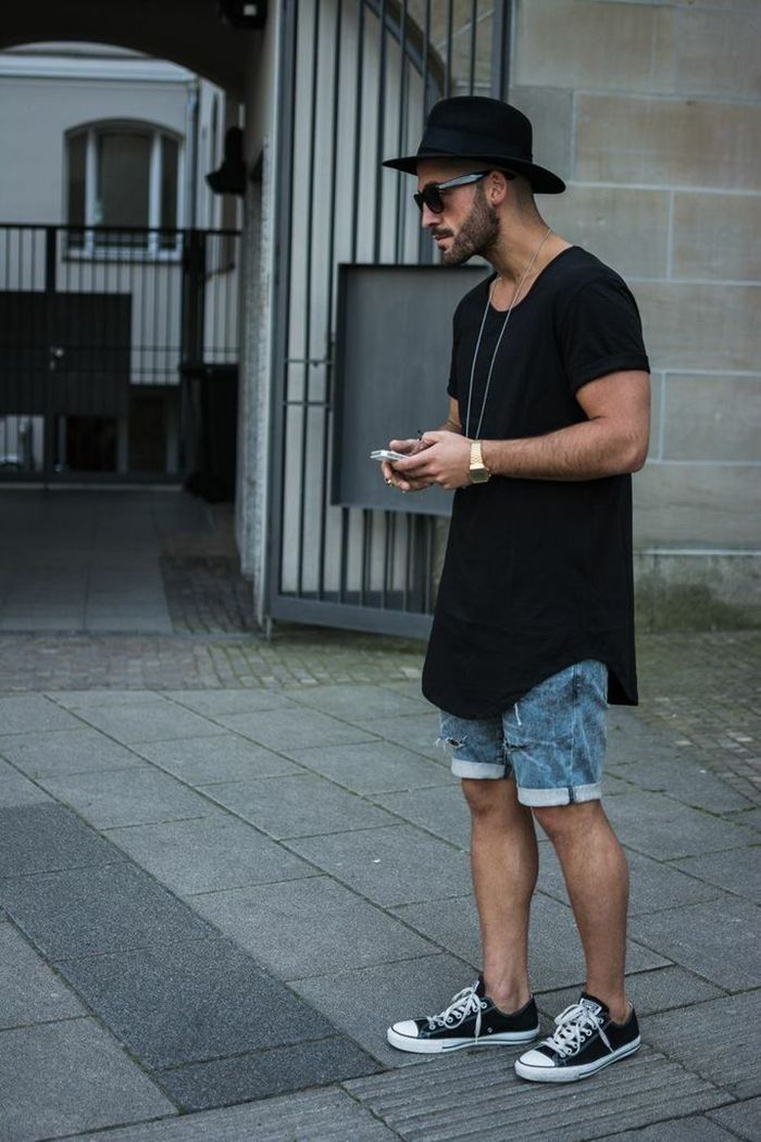 56e9b7cbb tendência camisa comprida oversized masculina homens que se cuidam 15