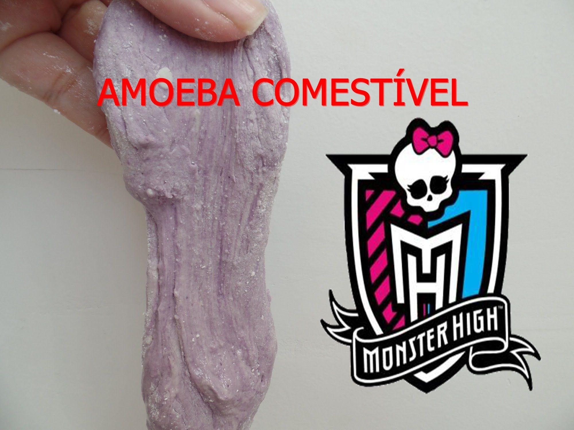 Como fazer Amoeba Comestível da Monster High, fácil e muito gostosa!