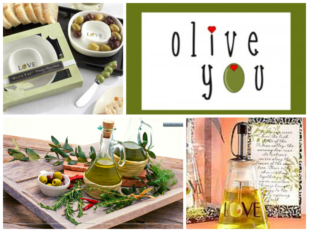 Italian Wedding Gifts: â Olive Youâ Olive Tray And Spreader