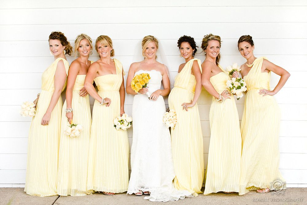 Pale Yellow For Color Choice Renew Wedding Vows Bridesmaid Dresses Flower Col Yellow Bridesmaid Dresses Wedding Bridesmaids Dresses Blue Yellow Bridesmaids