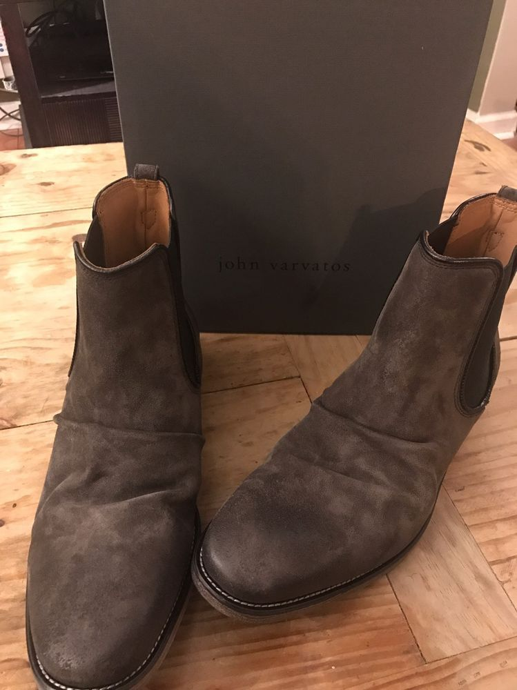 0b9bd5bdad67 John Varvatos Men FLEETWOOD CLASSIC CHELSEA BOOT STYLE F2630R4-Y416 Size  11.5  JohnVarvatos  AnkleBoots