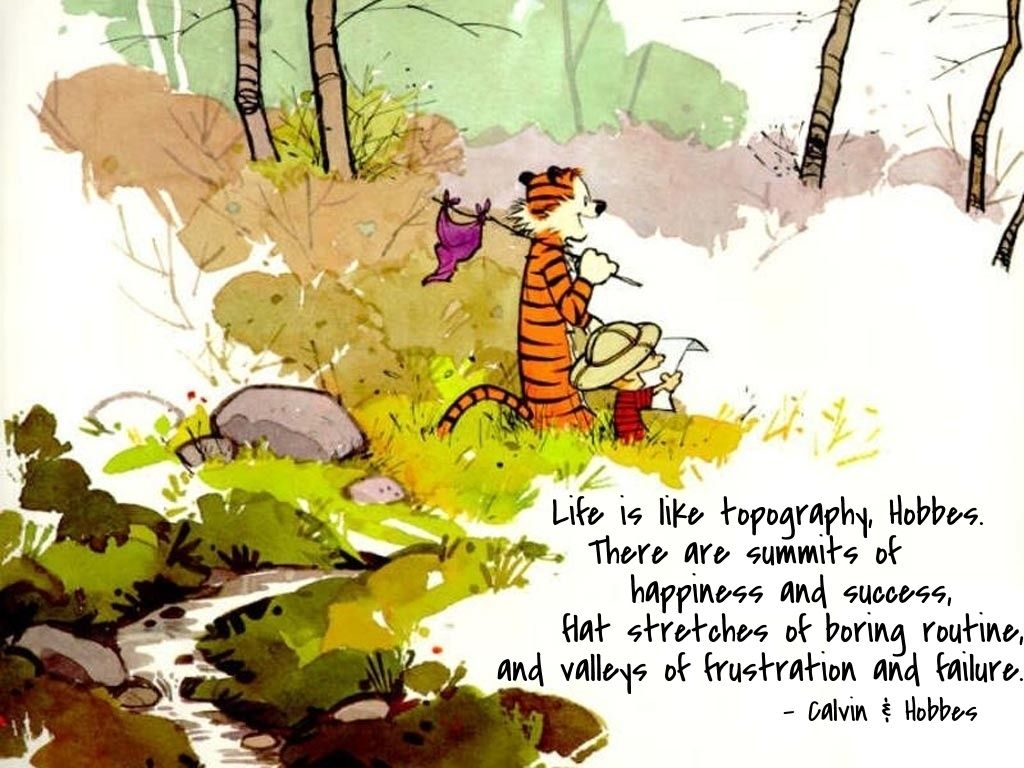 Lujoso Arte Calvin Y Hobbes Enmarcada Regalo - Ideas Personalizadas ...