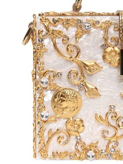 444fb7d200 Dolce   Gabbana Mother of Pearl Top Handle Bag