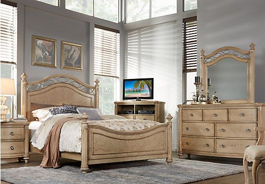 Laurel View Sand 8 Pc King Poster Bedroom . $1,755.00.  Find affordable Bedroom Sets for your home that will complement the rest of your furniture.