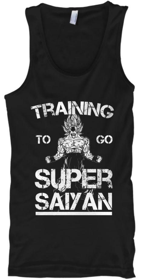 f698e6d7 Training to go super saiyan | DBZ merchandise | Super saiyan, Mens ...