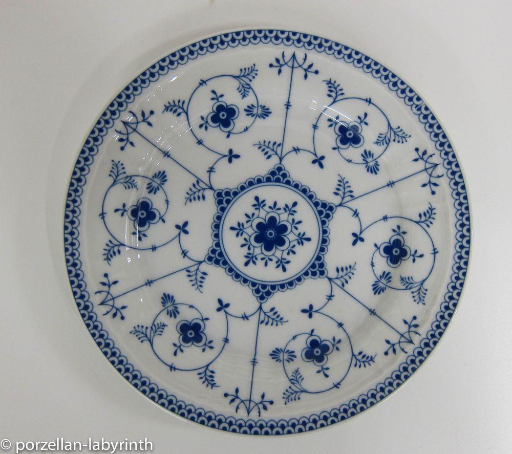 Kuchenteller Eschenbach indisch Blau Strohblume Teller ...
