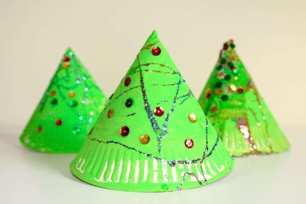 Lavoretti Di Natale Al Nido.Lavoretti Di Natale Per L Asilo Nido Gli Alberi Di Natale