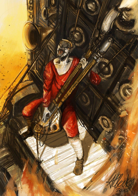 Mad Max Fury Road The Coma Doof Warrior By Artofalberto
