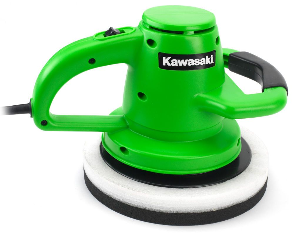 "Kawasaki 10"" Orbital Buffer/Waxer/Polisher With Two"
