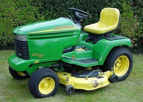 pin by kjmmd on john deere gx355 lawn garden tractor service repair rh pinterest com john deere gx355 service manual john deere gx355 parts manual
