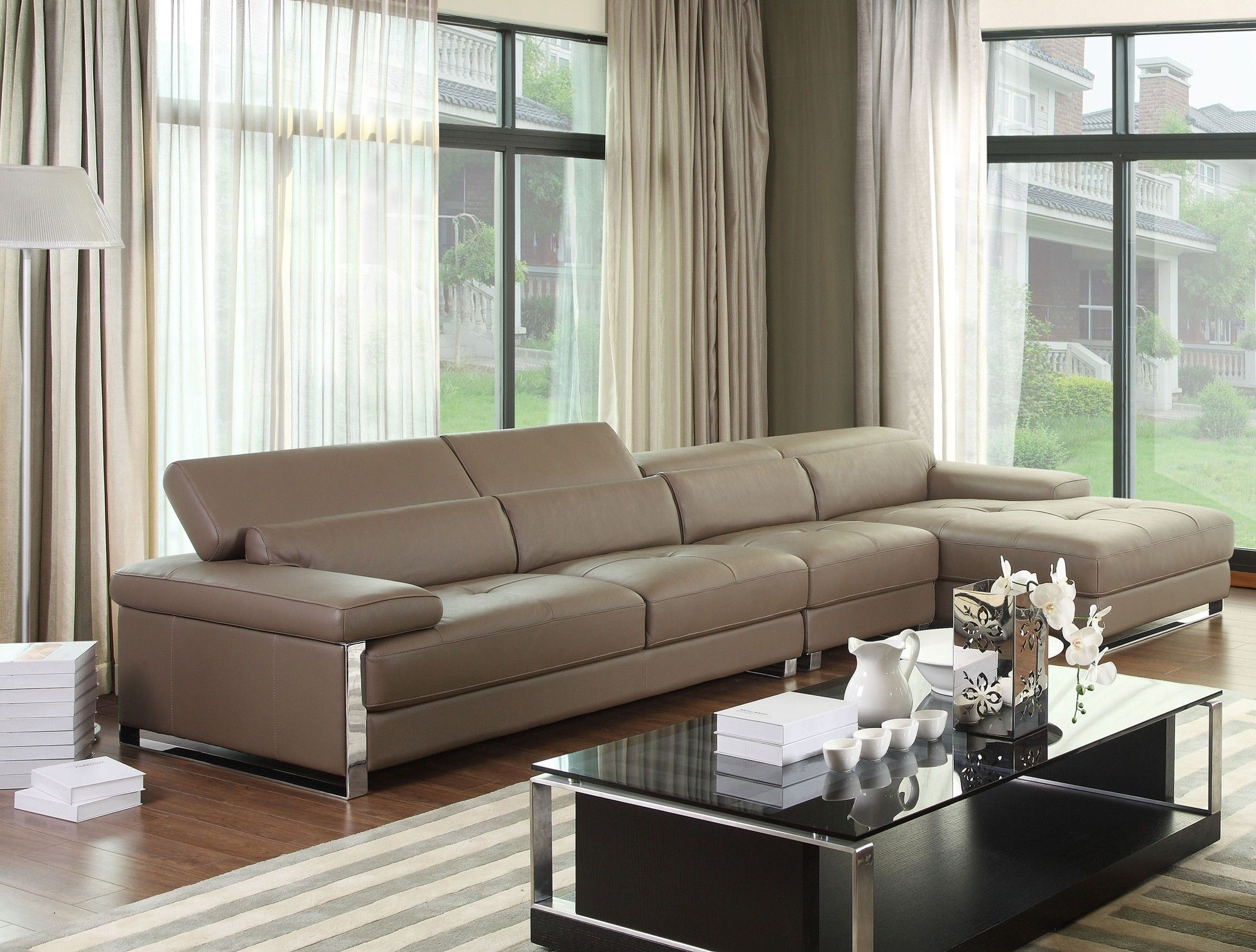 Chelsea Grey Corner Leather Sofa Suite For Details Visit Www Sofabespoke Co Uk Leather Corner Sofa Sofa Com Sofa Furniture