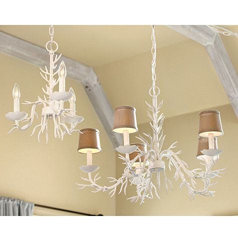 Coral chandeliers gorgeous over kitchen table or seating area in coral 5 light chandelier ballard designs aloadofball Images