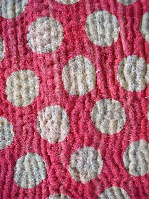 Simple stitch repetition, Sashiko Embroidery by Misako Mimoko