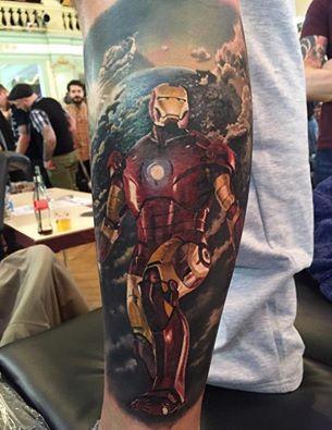 Steve Butcher tattoos