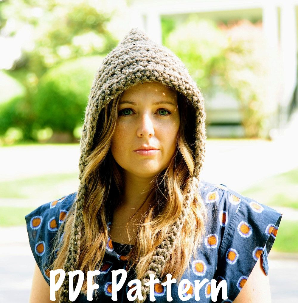 Womens Pixie Hat Pattern, Crochet Pattern, Crochet Hat Pa… | I Love ...