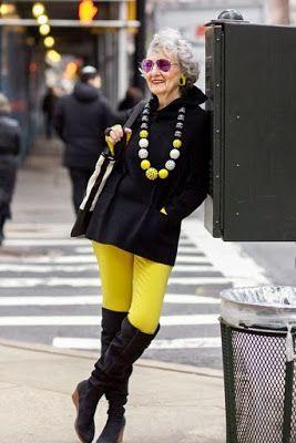 Pin En Moda Mujeres Mayores