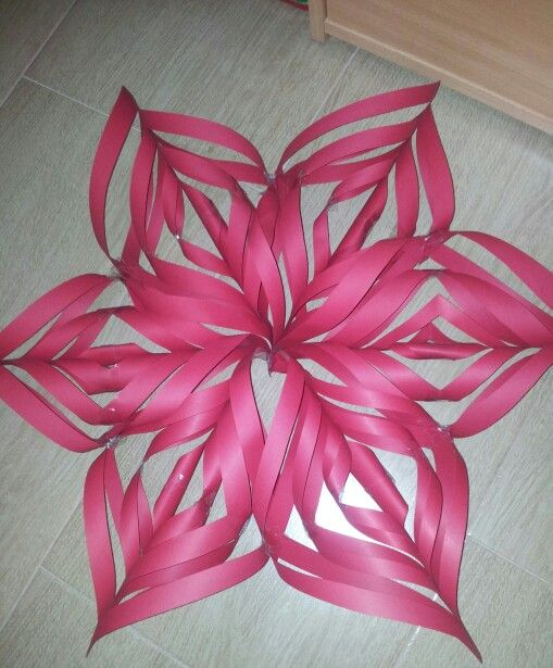 Paper star. Perfect for Christmas decoration!