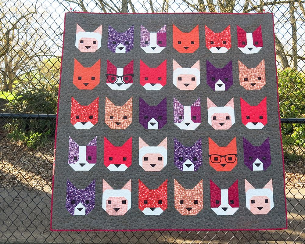 I NEED this pattern!!!! Cute and nerdy way to show off my love of kitties :)
