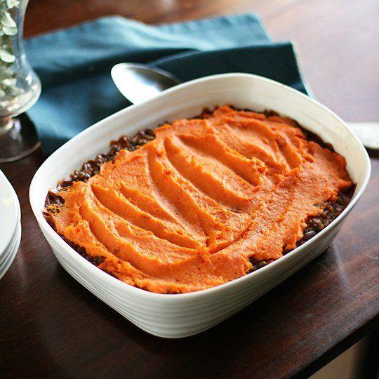 Lentil, Mushroom & Sweet Potato Shepherd's Pie   Recipe ...