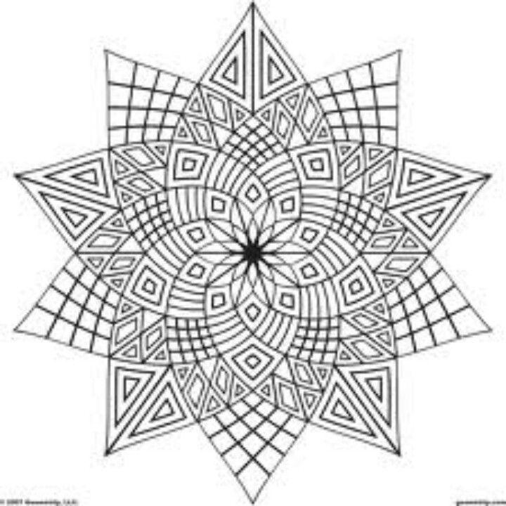 Wunderbar Geometrische Malvorlagen Zum Ausdrucken Fotos - Entry ...
